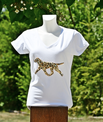 "T-Shirt ""LEO"" on the move"