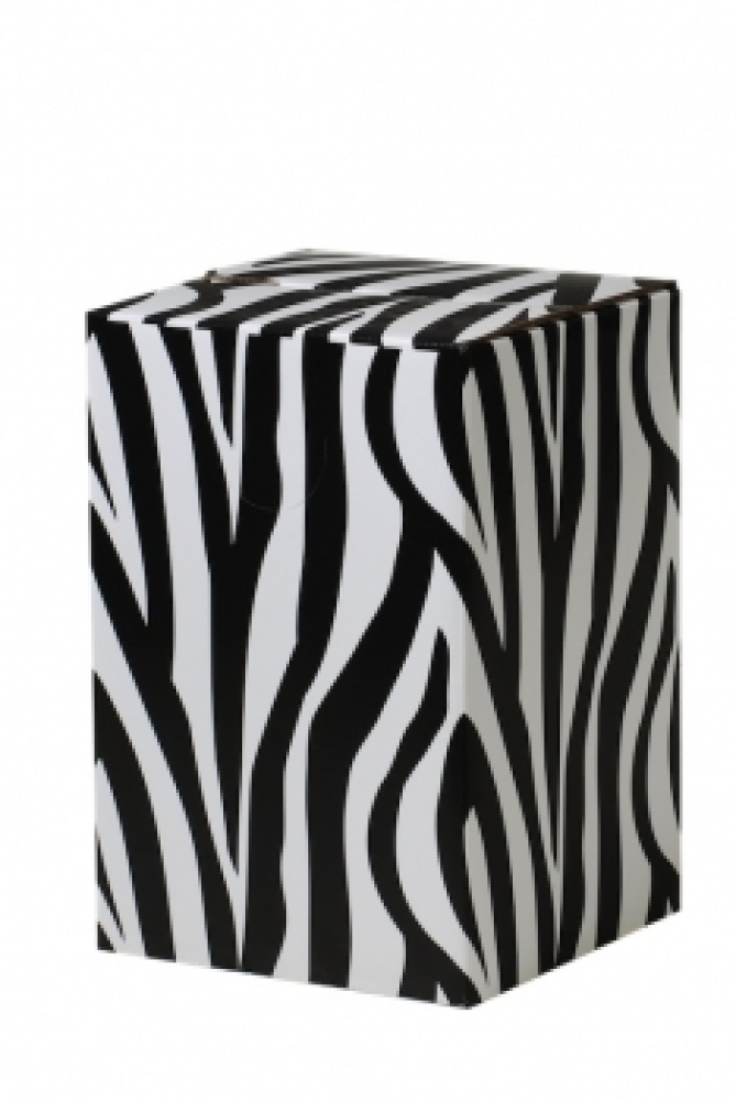 Zebra Hocker