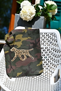 "Stanley/Stella© Camouflage Tote Bag ""THE MOVE Leo"" Sonderedition"